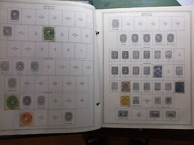Vintage Minkus Global Supreme Stamp Album Part VII~ 1694  Stamps , Mint, Used