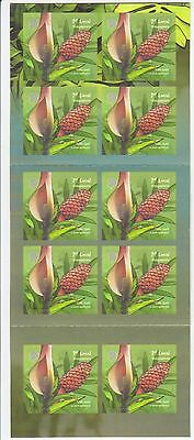 Singapore 2013 Pond Life 1St Local Booklet Of 10 Self Adhesive Stamps Mint Mnh