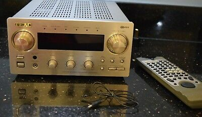 TEAC AG-H300 2 Channel 30 Watt Receiver Champange Gold includes remote phono