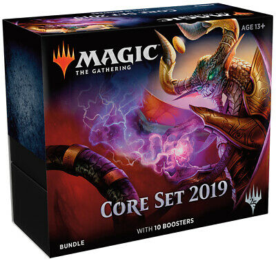 Magic the Gathering (MTG) 2019 Core (M19) Factory Sealed Fat Pack Bundle