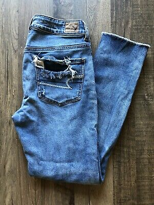 86429794fc6c NWOT AMERICAN EAGLE Tomgirl Overalls Distressed Size XS -  40.00 ...