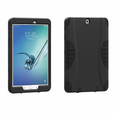 Rometech OEM Rugged Hybrid Hard Tablet Case Cover For Samsung Galaxy Tab S2 9.7""