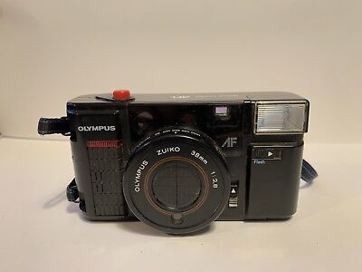 Olympus AFL Quick Flash 35mm Compact Small Camera Retro