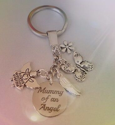 Mummy of an Angel, Angel wing key ring
