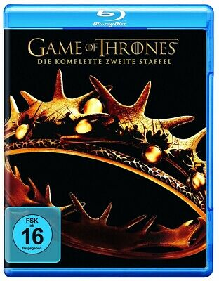 Game of Thrones Staffel 2 Blu-ray NEU OVP