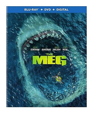 The Meg (Blu-ray Disc ONLY, 2018)