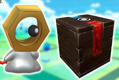 Pokemon Go! Meltan Mystery Box! Shiny Chance til 3/4/19