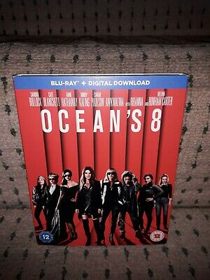 Ocean's 8 [Blu-ray Region B/UK]