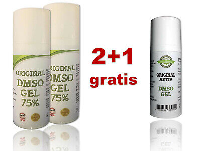 🍀 ORIGINAL DMSO GEL, - Salbe, - Creme | Dimethylsulfoxid 99,9% Reinheit
