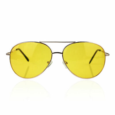 Fear and Loathing in Las Vegas Yellow Amber Tinted Lens Sunglasses Glasses Adult