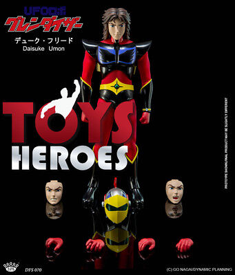 KING ARTS DFS070 DUKE FLEED ACTARUS DIECAST FIGURES SERIES GRENDIZER Preorder