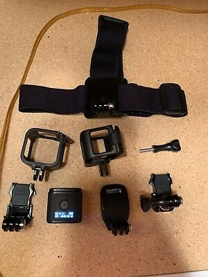 GoPro HERO4 Session + head mount and other accessories