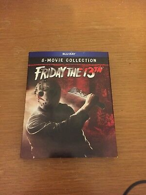 Friday The 13th Ultimate Movie Collection [8 Disc Blu-ray Set] *BRAND NEW* *OOP*