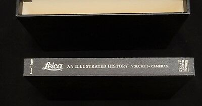 Leica an Illustrated History Volume I - Cameras - James Lager - leatherbound