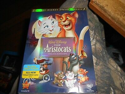 The Aristocats [New DVD] Special Edition Sealed