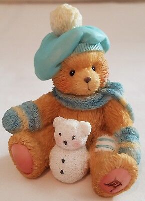 Cherished Teddies Bear Figurine Jack  A New Year With Old Friends January 914754