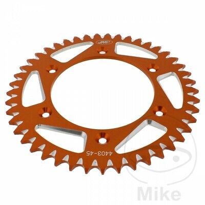 Husqvarna FC 450 2015 JMP Orange Aluminium Rear Sprocket (45 Teeth)