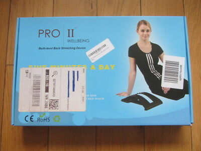 Proii Wellbeing Back Stretcher Support Posture Corrector Muscle Pain Relief Yoga