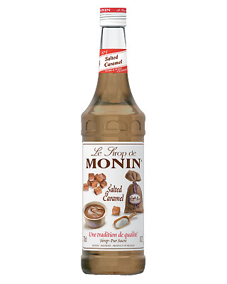 Monin Salted Caramel Syrup 700mL Other Drinks