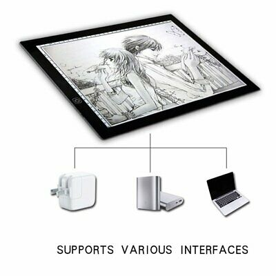 Portable LED Touch Board Drafting Graphics Tablet Animation Drawing Copy Boa YF