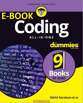 PDF Coding All-in-One For Dummies pdf  EFile Not Physical Book