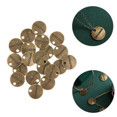 20pcs Bronze Plated Hand Made Charms Pendants for Jewelry Making DIY New