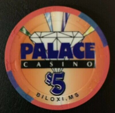 $5 Chip Palace Casino Biloxi Celebrating Mississippi's Tricentennial In 1999