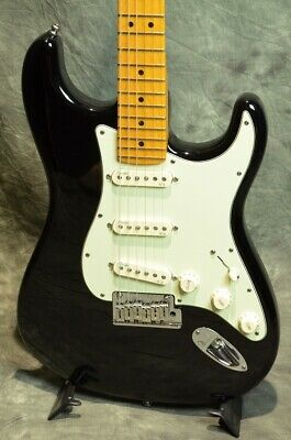 Fender USA American Deluxe Series Stratocaster N3 Black JAPAN beautiful rare EMS