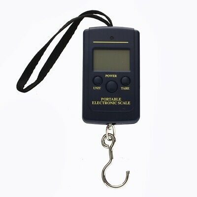 3X( Portable Digital Hanging Fishing and Luggage Scale 40Kg Max Weighing--L 6Y2)