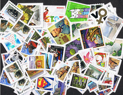 $90 Face Value ( 100 X P stamps ) UNCANCELLED POSTAGE - OFF PAPER -  NO GUM