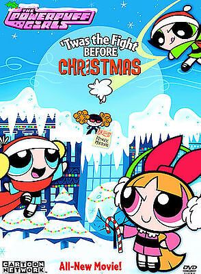 The Powerpuff Girls Twas The Fight Before Christmas Includes Ornament New Dvd