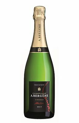 A.Bergere Brut Selection Champagne Champagne Sparkling 750mL case of 6