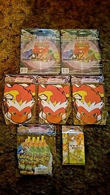 POKEMON Diamond and Pearl LENTICULAR BOOKMARKS 4 ~ Birthday Party Supplies