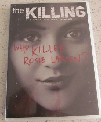 The Killing DVD The Complete First Season Who Killed Rosie Larsen