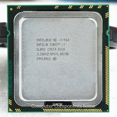 Intel i7 3.2ghz CPU with Motherboard and RAM