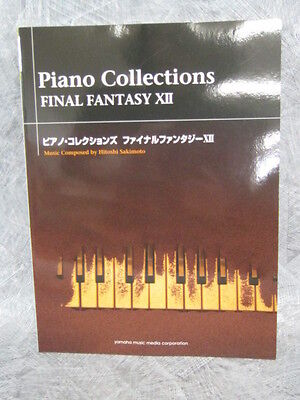 FINAL FANTASY XII 12 PIANO COLLECTIONS Score Music Sheet Book 25