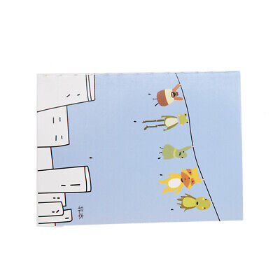 3X(Cartoon Little Notebook Handy Notepad Paper Notebook R2O5)