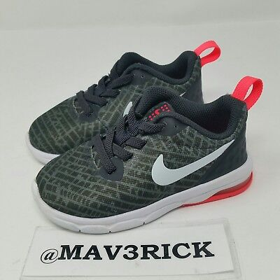 new styles 59d6b c0998 Nike Air Max Motion (Toddler Boy s Size 7C) Athletic Sneaker Shoes Gray  Orange