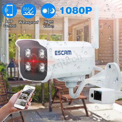 Waterproof Security Camera 1080P IP Wireless WIFI Recoder Night Vision P2P Lot