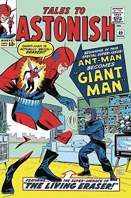 TRUE BELIEVERS Ant-Man And The Wasp BIRTH OF GIANT-MAN #1 NM MARVEL Comics