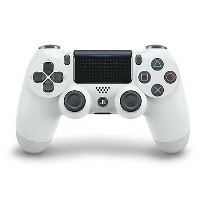 PS4 / Playstation 4 - Original Wireless DualShock 4 Controller #Glacier White V2