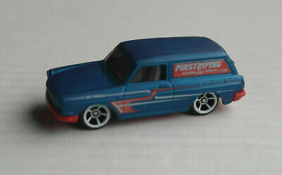 Hot Wheels 1969 VW Volkswagen Typ 3 Variant Squareback Custom satinblau/rot ´69