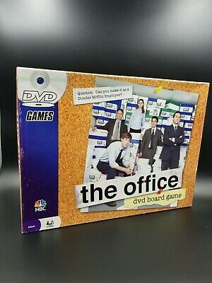 The Office DVD Board Game Trivia Dunder Mifflin Pressman 2008 NBC Complete Set