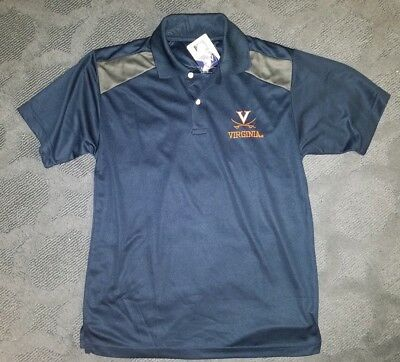 793d2fff NWT OLD VARSITY Brand NCAA Virginia Cavaliers Men's Polo Shirt Small ...
