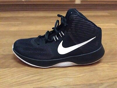 8720e74d6dfa Nib Nike Air Precision Mens Basketball Shoes Black White Size 9.5 898455 001