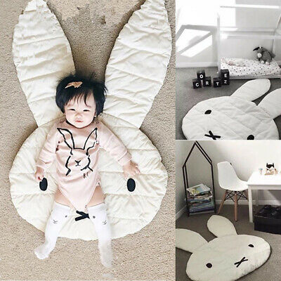 Rabbit Shape Playing Crawling Mat Crawl Rug Lovely Children Room Decorate Mat