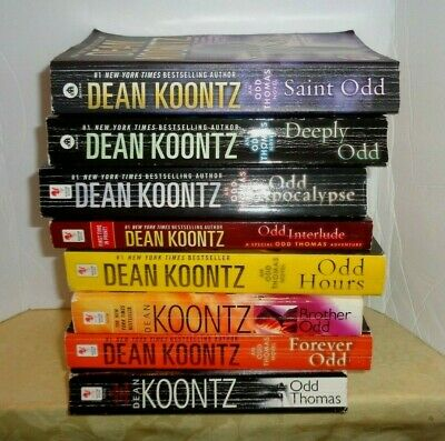 Odd Thomas Series Paperback Collection Set By Dean Koontz Brand New
