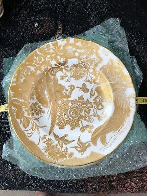 Royal Crown Derby Gold Aves Dinner plate 9 available $99.99 blowout sale