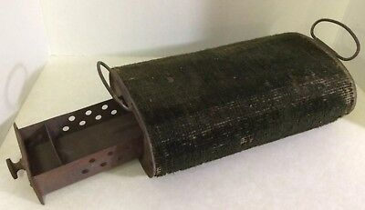 ANTIQUE CHARCOAL FOOT WARMER for BUGGY- SLEIGH- CARRIAGE