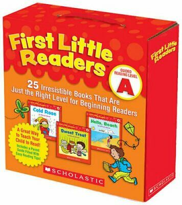 First Little Readers: Guided Reading Level A 25 Irresistible Bo... 9780545231497